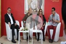 """اللقاء الفكري الحواري """"الفن و الاحتجاج"""" معرض تونس الدولي للكتاب"""