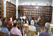"""لقاء حول كتاب: """"كنت في الرقّة: هارب من الدّولة الإسلاميّة"""" للكاتب الصّحفي الهادي يحمد"""