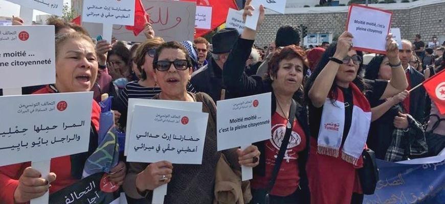 النساء والـميراث ومدارات التـهميش: مواجهة جندرية لسياسة متعدّدة الأضلاع