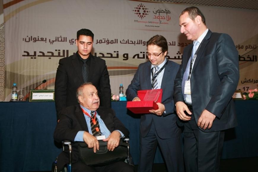 """مؤتمر """"مؤمنون بلا حدود"""" يكرم المفكر المصري حسن حنفي"""